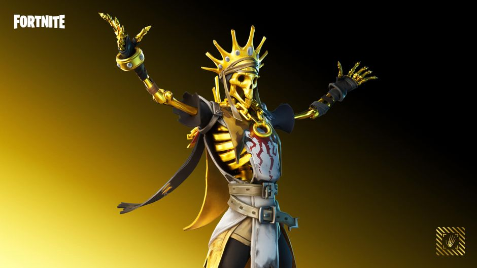 Fortnite - Legendary Oro Outfit