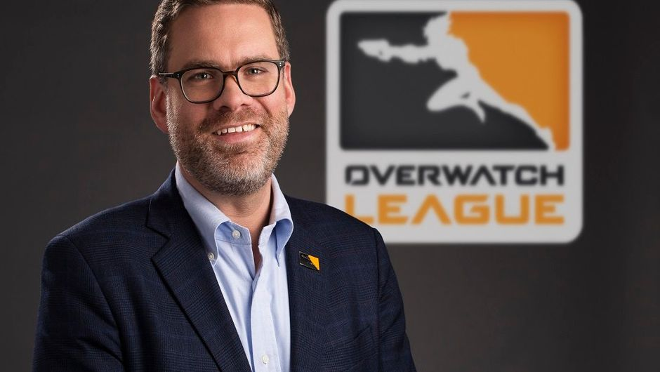 Picture of Nate Nanzer during his time with Overwatch League