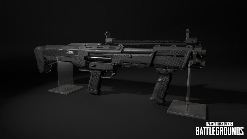 PUBG artwork showing a new shotgun