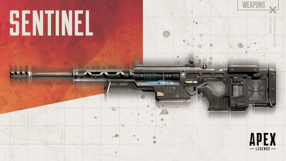 Apex Legends sniper rifle the Sentinel