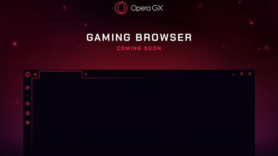 screenshot showing opera gx browser