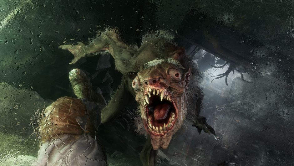 Screenshot of a mutant from the upcoming Metro Exodus