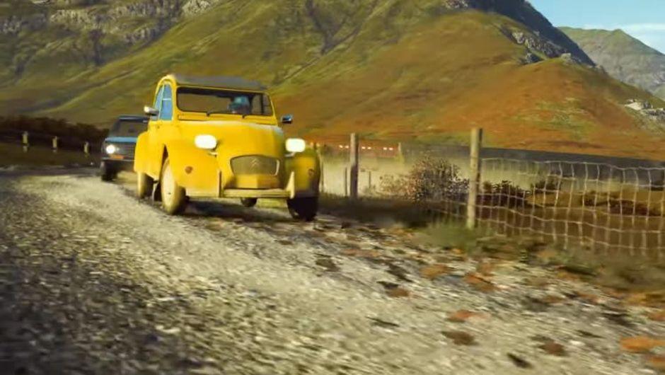 Citroen's legendary 2CV from Forza Horizon 4