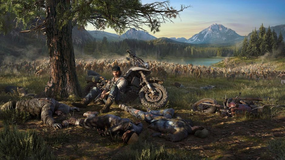 Key art for SIE Bend Studio's open world survival Days Gone
