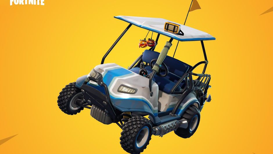 Fortnite Season 5's new vehicle called All Terrain Kart