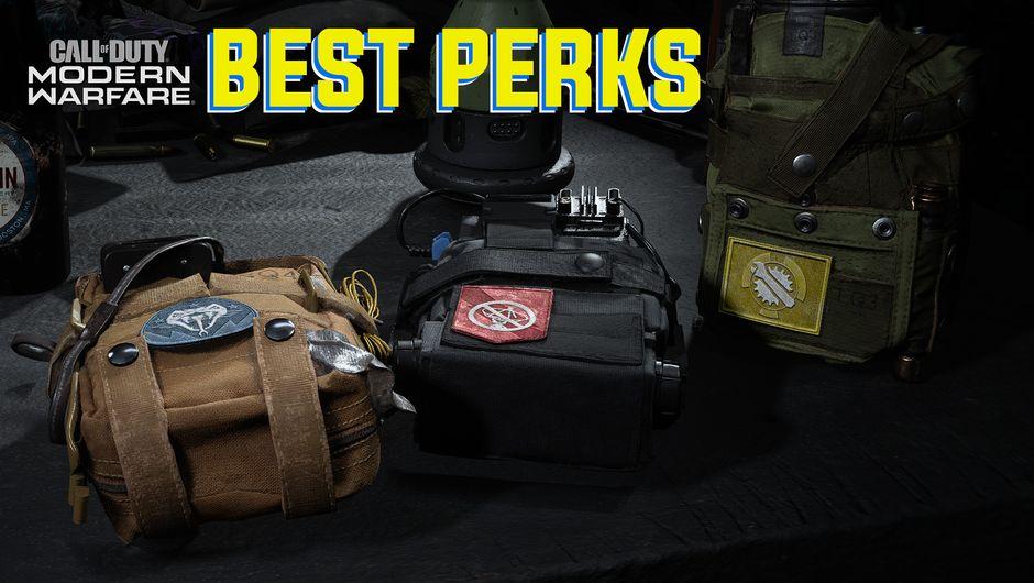 Call of Duty: Modern Warfare screenshot showing perk bags