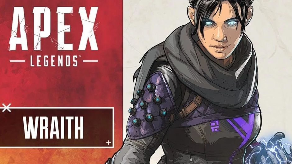 Apex Legends artwork showing wraith character