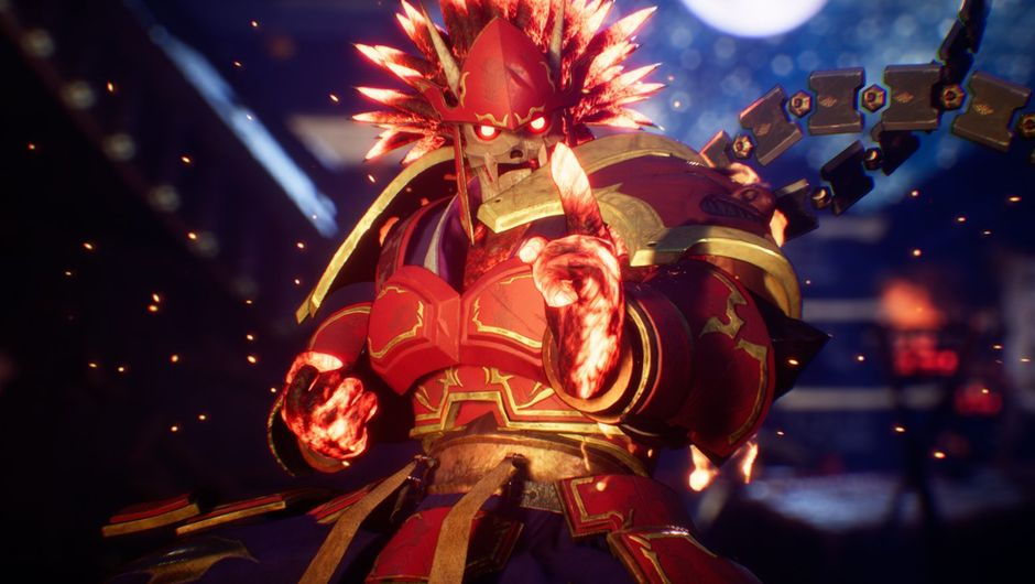 Picture of Garuda in Fighting EX Layer by Arika
