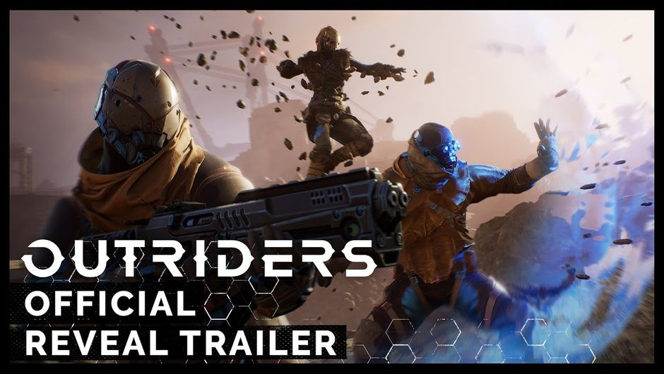 Outriders reveal trailer promo