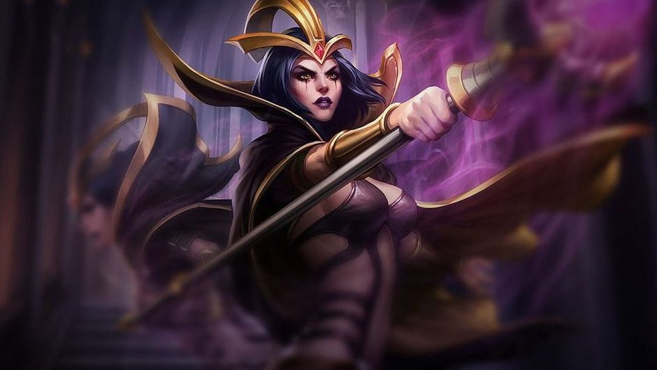 Picture of LeBlanc in League of Legends