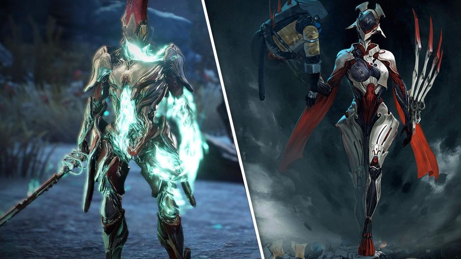 Revenant and Garuda, two new warframes from Warframe
