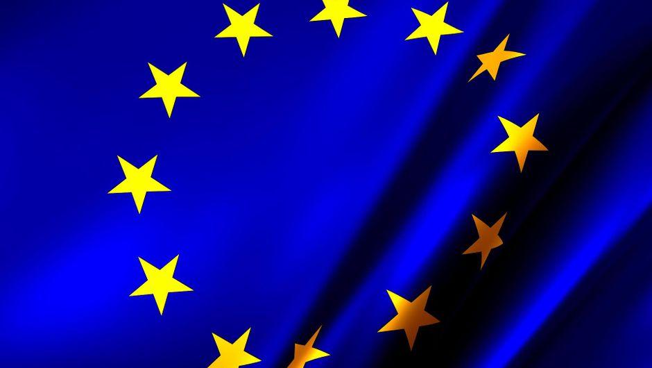 A flag of the European Union