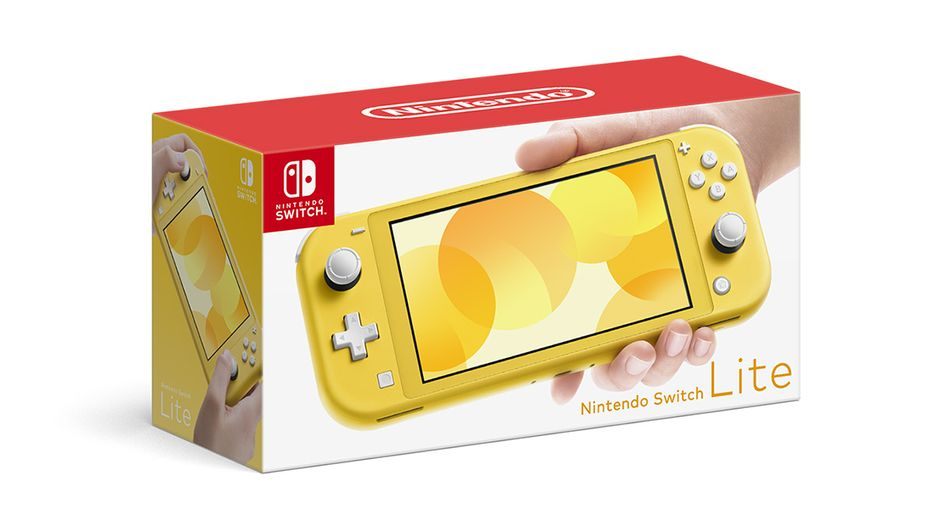 Promo image for Nintendo Switch Lite