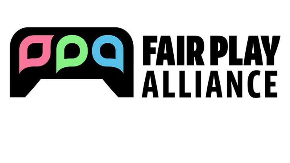 Logo for a congregation of game developers called Fair Play Alliance