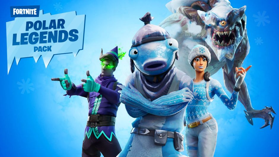 Fortnite - Polar Legends Pack promo image