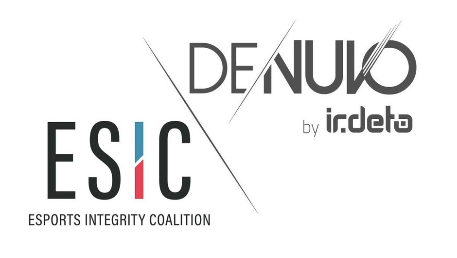 Poster that announced Denuvo's participation in ESIC
