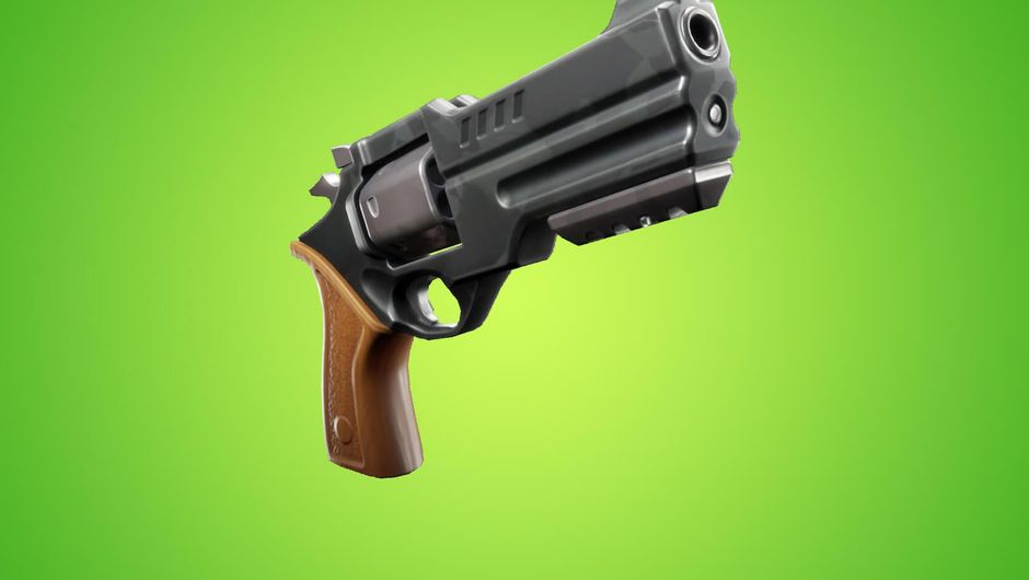 Newly added Revolver from Fortnite's update 9.30