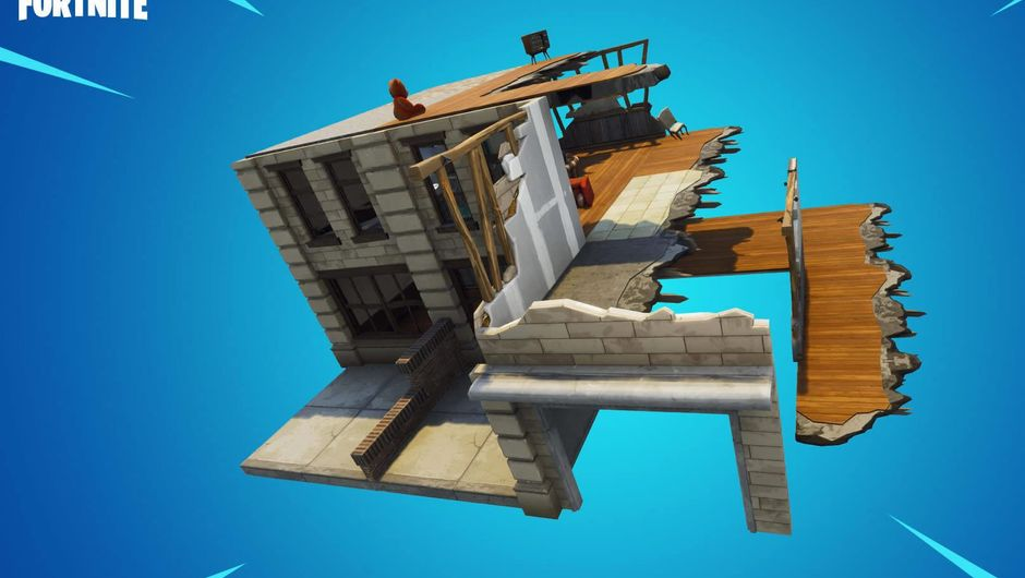 Ruined Tilted themes in Fortnite Creative