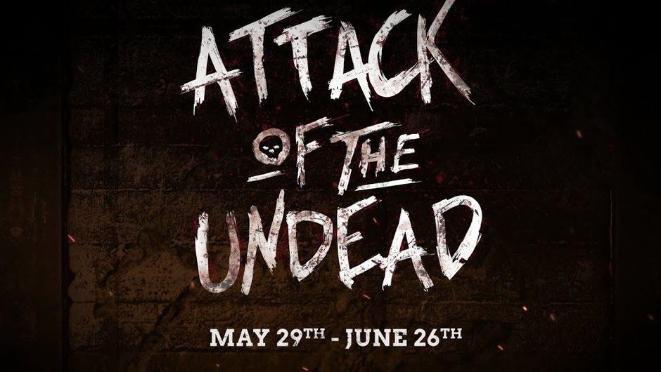 Promotional poster for Attack of the Undead event in Call of Duty WW2