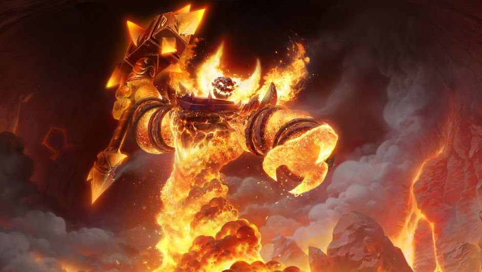 Promotional image of Ragnaros in World of Warcraft