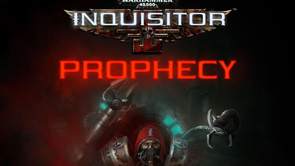 Promotional image for Warhammer 40K: Inquisitor - Prophecy