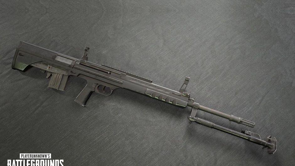Newly added PUBG designated marksman rifle called QBU