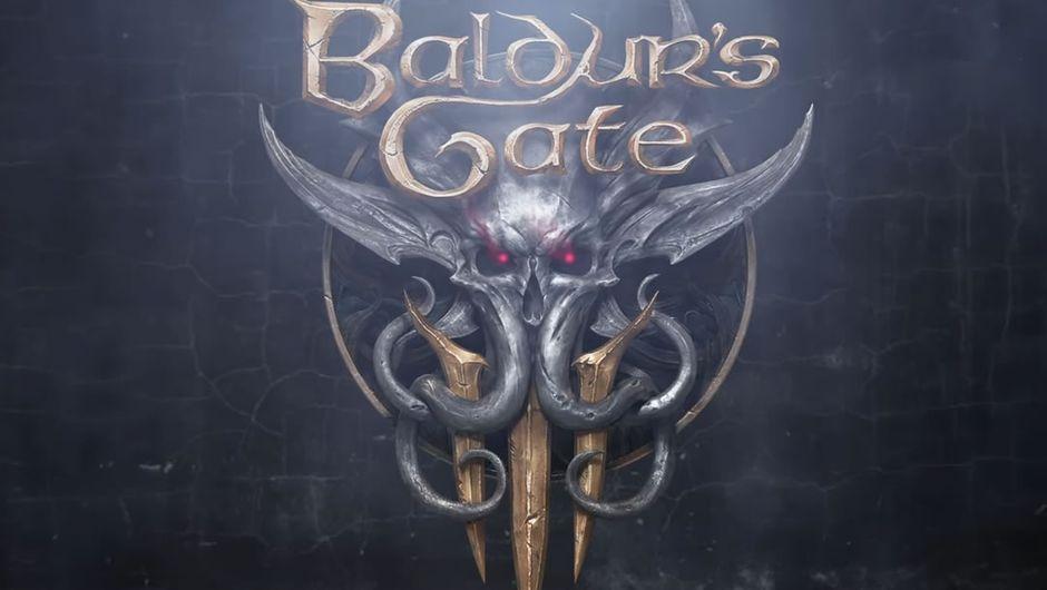 Baldur's Gate 3's official logo