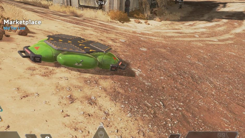 Latest feature added to Apex Legends map - jump pads