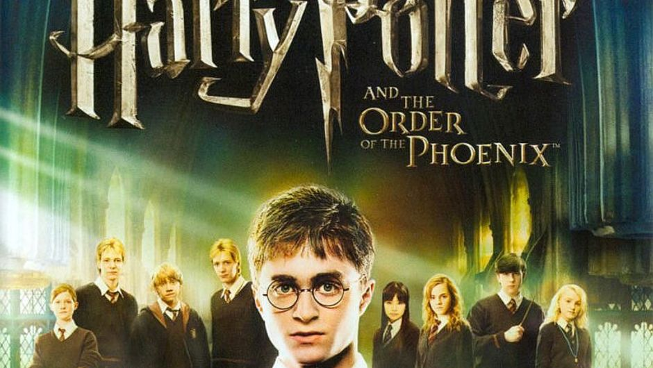 Harry Potter and The Order of The Phoenix key art