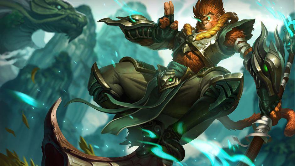League of Legends champion Wukong splashart
