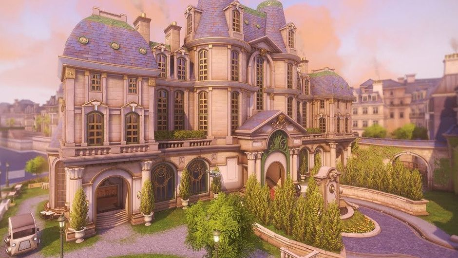 Picture of the Paris map from Overwatch