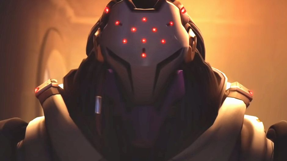 Picture of a mysterious omnic from Overwatch