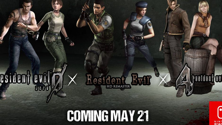 picture showing characters from resident evil