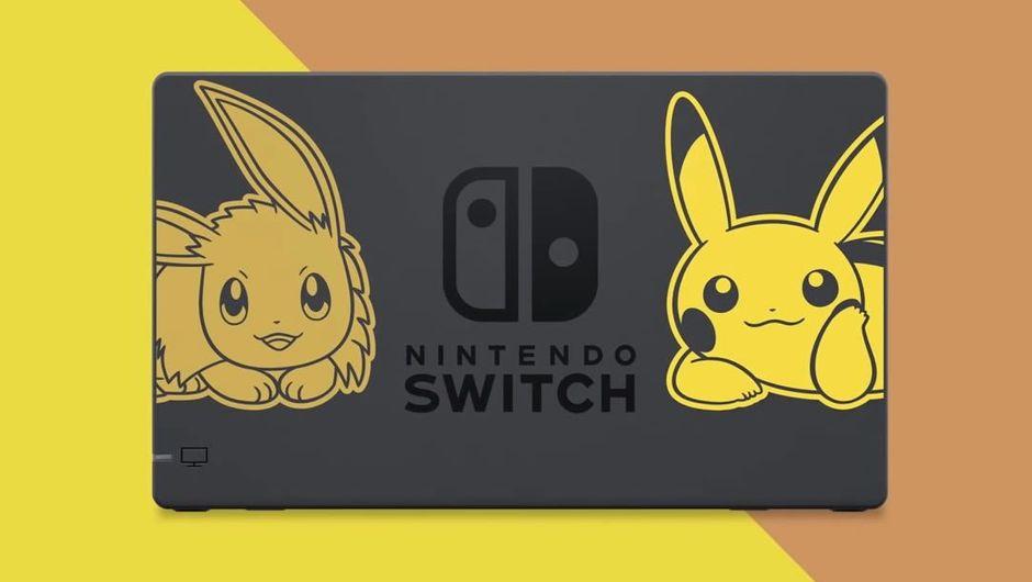 Nintendo's Pokemon themed Switch edition