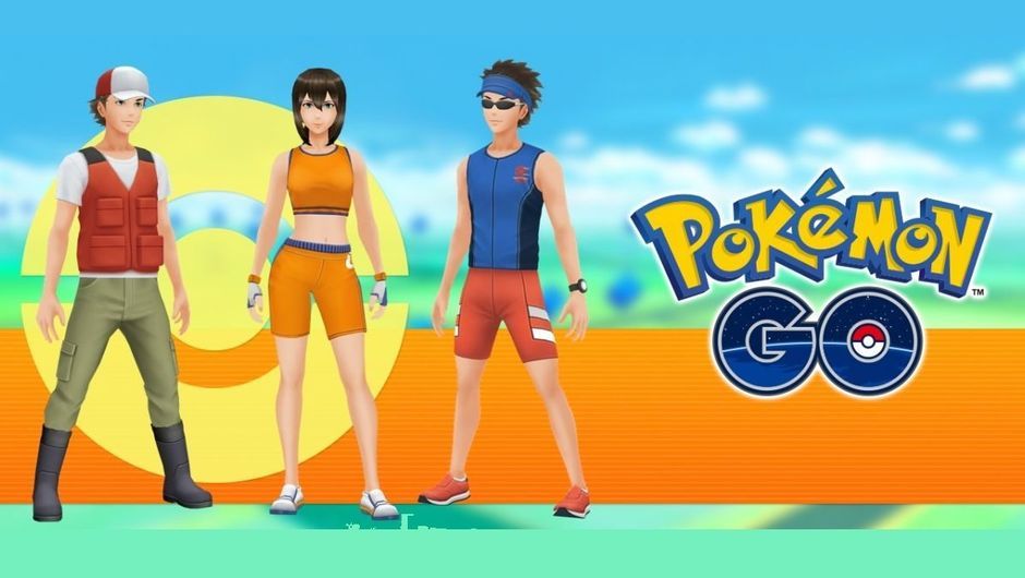 New Battle Girl, Jogger and Fisherman outfits in Pokemon GO