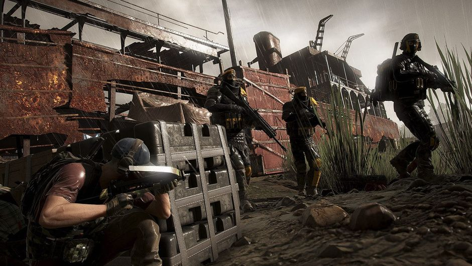 Picture of operators engaging in a firefight in Ghost Recon: Wildlands