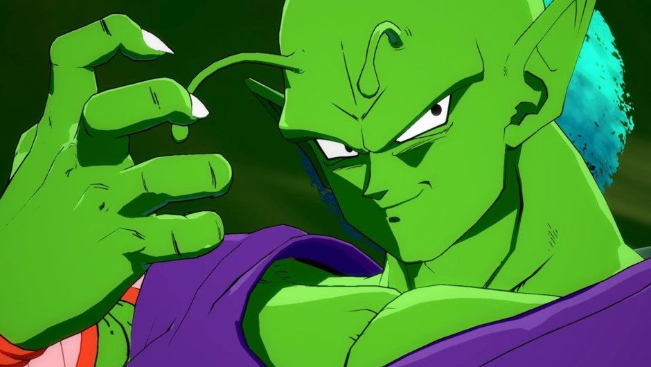 picture showing piccolo from dragon ball series