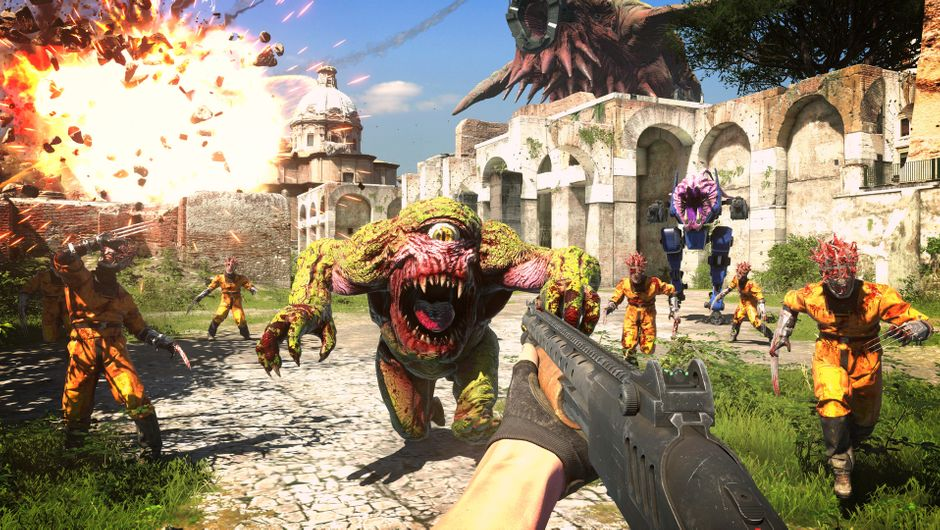 Serious Sam 4 release date announced with several trailers