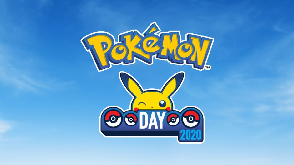Pokemon Day 2020 celebration announcement banner