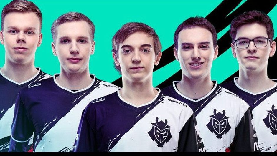 Promotional image of G2 Esports League of Legends team