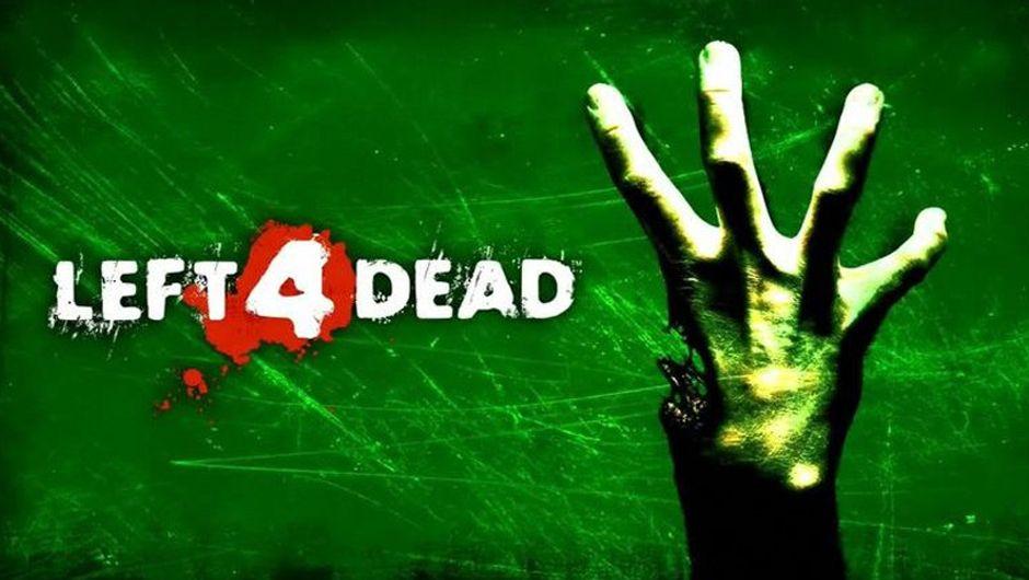 artwork showing left 4 dead logo