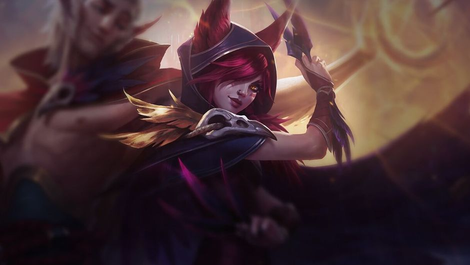 Picture of League of Legends champion Xayah
