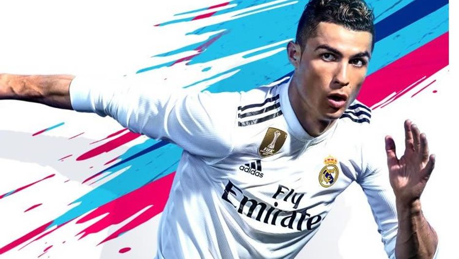 Christiano Ronaldo cover art for FIFA 19, which will be changed soon