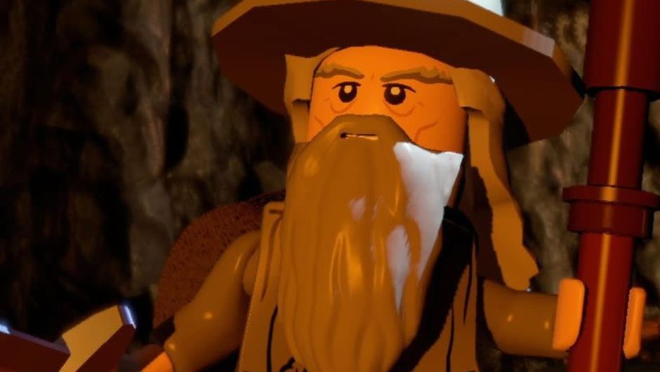 Gandalf's character in Lego Lord of the Rings