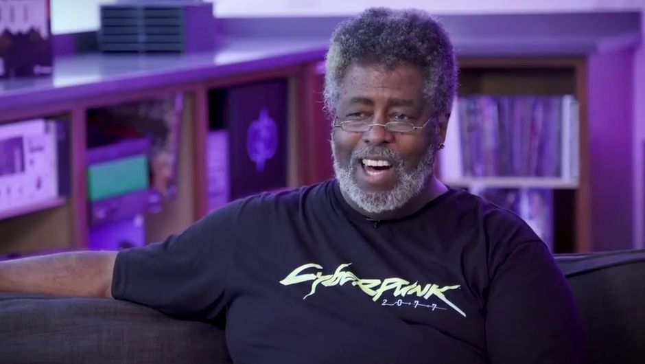 photo showing cyberpunk 2020 creator mike pondsmith