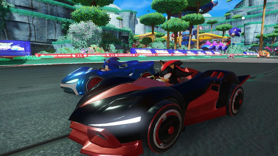 Promotional image from Team Sonic Racing