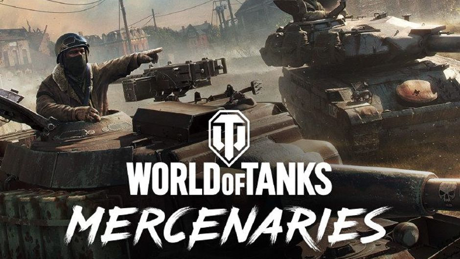 Promotional image for the console exclusive World of Tanks Mercenaries