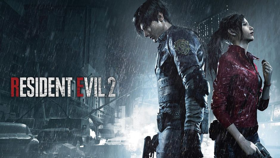 Promo poster for the 2019 remake of Capcom's classic Resident Evil 2