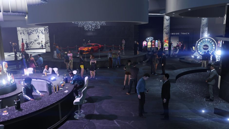 GTA Online, Diamond Casino & Resort interior