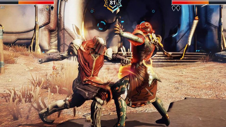 Warframe's latest fighting minigame called Frame Fighter